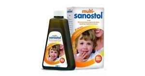 Multi-Sanostol, liquid for children over 1 year old, 300g - Original - UK Stock