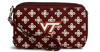 Vera Bradley Virginia Tech Hokies NEW - RFID All In One Crossbody Wallet Purse