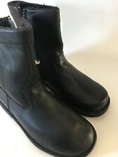 Propet Mens Fleece Lined Side Zip Leather Ankle Boot Size 10.5M (D)