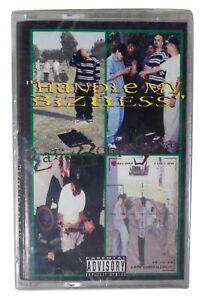 LATIN BOMB SQUAD Handle My Bizness 1994 SEALED CASSETTE TAPE 90s G-Funk Gangsta