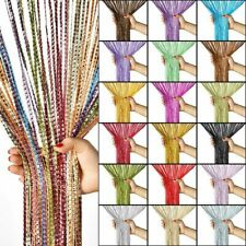 String Door Curtain Beads Tassel Room Divider Crystal Fringe Beaded Window Hang
