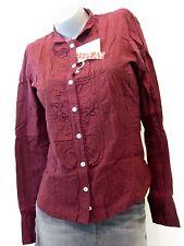 REPLAY Blusa De Mujer TEENS tamaño S (36/38) rojo NUEVO w2211