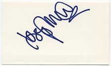 THE BREEDERS JOSEPHINE WIGGS AUTOGRAPHED SIGNED SIGNATURE CARD ORIGINAL Index