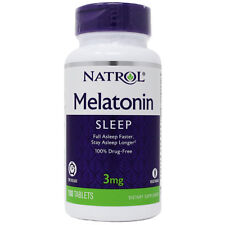 Natrol Melatonin 3 mg Time Release Vitamin B6 Dietary Supplement - 100 Tablets