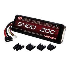 Venom 20C 5400mAh 11.1V 3S 3 Cell LiPo Battery w/ Traxxas VXL VNR1581 VEN1581
