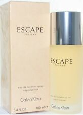 ESCAPE by Calvin Klein Edt 3.4oz/100ml Spray For Men New in Box