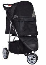 Pet Stroller Dog Cat Puppy Jogger Pushchair Travel Carrier Pram Buggy Wheels New