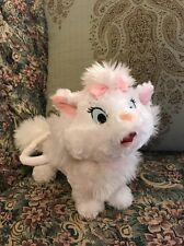"Walt Disney World Disney Parks Marie Aristocats Cat Plush Purse Handbag 11"" #G9"
