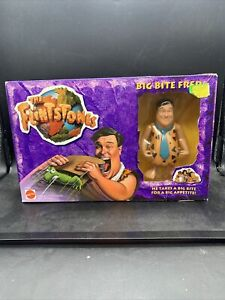 Vintage 1993 The Flintstones Big Bite Fred Doll Mattel 11664