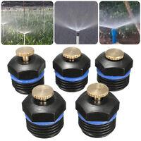 10 xSprühdüse Düse Sprinkler Kopf Nebeldüse Ersartz für Garten Bewässerungs S2M7