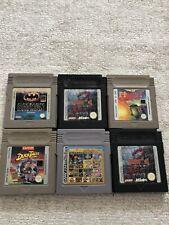 Gameboy Spielesammlung