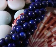 """wholesale 5 Strands 6MM Natural Egyptian Lapis Lazuli Round Loose Beads 15"""""""