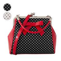 Banned Polka Dot Star Vintage 1950s Retro Rockabilly Elegant Womens Shoulder Bag