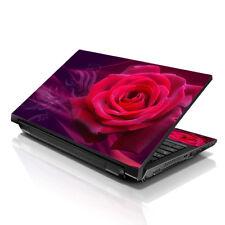 "13.3"" 15.6"" 16"" Laptop Skin Sticker Notebook Decal Red Rose Purple M-A39"