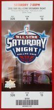 2010 NBA ALL-STAR SATURDAY NIGHT TICKET American Airlines Center DALLAS 2/13/10