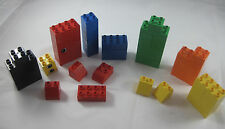 Lego DUPLO Lot of 56 Assorted Bricks and Pieces - Assorted Colors