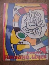 XXeme SIECLE HOMAGE TO LEGER ENGLISH EDITION LITHOGRAPH BY MOURLOT