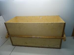 Holz Werkzeugkasten Montagekiste Holzbox Werkzeugkiste 85x37x47 Schreiner