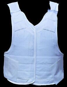 Meggitt White Covert Body Armour Bullet Proof Stab Vest For Security Grade A