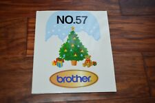 Embroidery Designs Card 57 Christmas for Brother ULT 2001 2002D 2003D