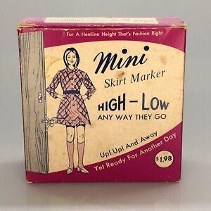 Vintage Orco Mini Skirt Marker Unused In Original Box *1960's *Displays Well*