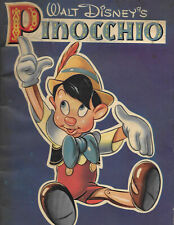 1939 WALT DISNEY'S VERSION OF PINOCCHIO WITH PICTURES TO COLOR