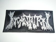 INCANTATION EMBROIDERED LOGO DEATH METAL PATCH