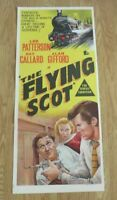 THE FLYING SCOT ORIGINAL 1957 CINEMA DAYBILL FILM POSTER Lee Patterson RARE