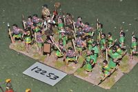 25mm biblical / syrian - spearmen 32 figures - inf (12253)