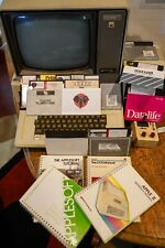 "Apple II Plus Macintosh 2 5.25"" Drive, Monitor, Computer, Joystick, Manuals +etc"