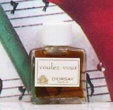 Voulez - Vous Parfum Micro Mini 1.5ml. By D'Orsay. Vintage. NUB