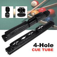 2x2 1/2 Leather Billiard Stick Pool Barrel Hard Cue Tube Case Black with  D2