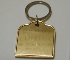 The Big Fellow Michael Collins Irish Whiskey double sided gold tone key chain