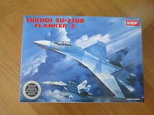 ACADEMY 1:48 SUKHOI SU-27UB FLANKER C MODEL KIT AEREO
