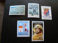 Madagascar - Briefmarke Yvert / Tellier N° 510 522 540/42 N MNH (A51)