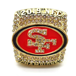 National Champions 2019 San Francisco 49ers Championship Ring All Size Available