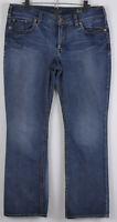Silver Suki Bootcut Jeans Womens Size 16/32 Measures 35 x 30.5 Cotton Blend