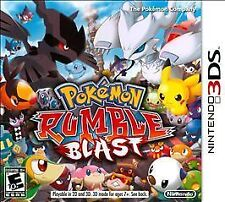 NEW Pokemon Rumble Blast (Nintendo 3DS, 2011)