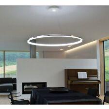 LED Chrome Modern Pendant Lamp Ceiling Chandelier Light Fixture Lighting Metal