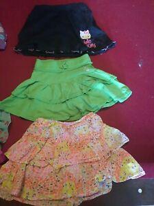 3 Size 4-5t Girls Skirts. 1 Hello Kitty 1 Children's Place And 1 Oshkosh