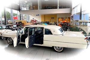 **HOCHZEITGLOCKEN** 1964 Cadillac Fleetwod 75 US Limousine im Oldtimer Museum