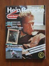 Vtg 80s HEIN GERICKE Motor Freizeit Sport Herbst Motorcycle Catalog Winter 87-88