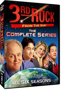 3rd ROCK FROM THE SUN COMPLETE SERIES DVD BOXSET 17 DISC 1-6 REGION 1 NEW SEALED