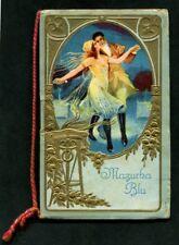 CALENDARIETTO 1923 MAZURKA BLU - LEHÁR OPERETTA MUSICA LIRICA - OTTIMO - BUSTINA