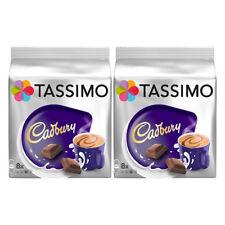 2 Packs Tassimo Cadbury's Hot Chocolate 16 T-Discs Pods New.