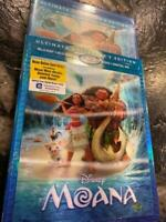 Disney Moana (Blu-ray 3D, BD, DVD, Digital HD, 3D Slipcover)Ultimate ed. SEALED!