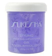 Sukesha Styling Gel (16 oz) Certified Organic Hair Gel 3 month supply haircare