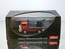 SCHUCO 03341 VW VOLKSWAGEN T2a FEUERWEHR LADDER TRUCK - 1:43 - EXCELLENT IN BOX