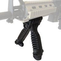 NEW Tactical 40 Degree Swivel Foldable Foregrip Bipod 20mm Rail Mount - QR