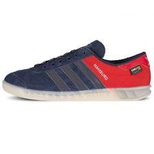 Adidas Hamburg ++++ RARE++++  Navy / Red Halfshoe  10 NEW samba spezial trimm